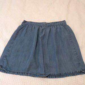 Madewell Lyocell skirt